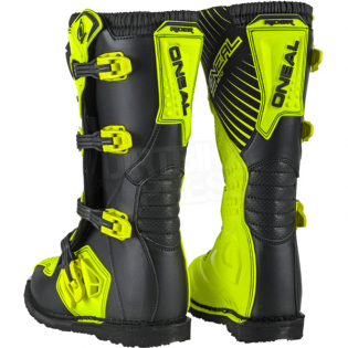 ONeal Rider Neon Yellow Boots Image 4