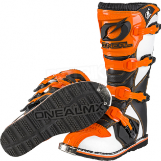ONeal Rider Orange Boots Image 2