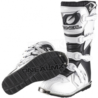 ONeal Rider White Boots Image 2