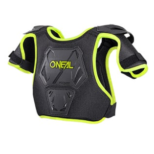 ONeal Pee Wee Kids Neon Yellow Chest Guard Image 3