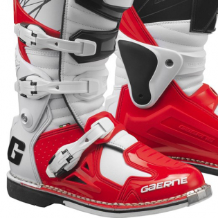 Gaerne Fastback Motocross Red Boots Image 4