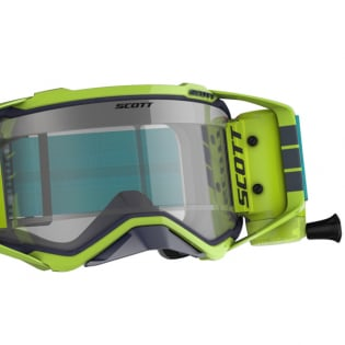 Scott Prospect WFS Blue Yellow Clear Roll Off Goggles Image 4