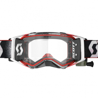 Scott Prospect WFS White Red Clear Goggles Image 2