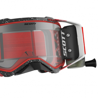 Scott Prospect WFS White Red Clear Goggles Image 4