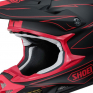 Shoei VFXW Hectic Matt Black Red TC1 Helmet