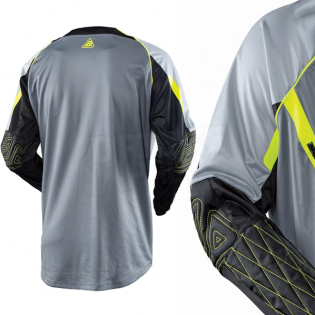 Answer Taiga XC Enduro Grey Hi Viz Jersey Image 2