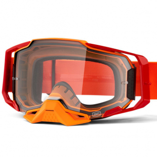 100% Armega LitKit Clear Lens Goggles Image 2