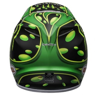 Bell MX9 MIPS Mcgrath Showtime Black Green Helmet Image 2