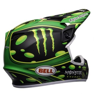 Bell MX9 MIPS Mcgrath Showtime Black Green Helmet Image 3
