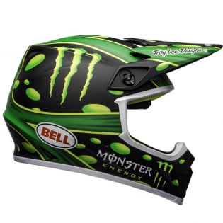 Bell MX9 MIPS Mcgrath Showtime Black Green Helmet Image 4