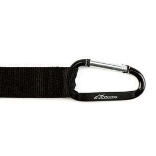 Alpinestars Snap Hook Black Keyring Image 4