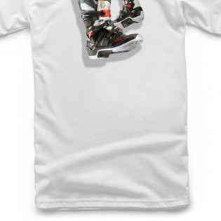 Alpinestars Kids Tech 7 Boot White T Shirt Image 4
