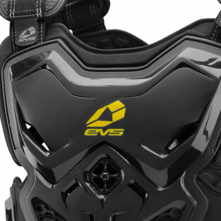 EVS F2 Black Roost Body Armour Image 2