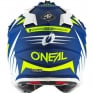 ONeal 2 Series Spyde 2.0 Blue White Neon Yellow Helmet