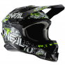 ONeal 3 Series Attack 2.0 Black Hi Viz Motocross Helmet