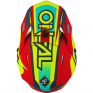 ONeal 3 Series Riff 2.0 Red Neon Yellow Motocross Helmet