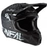 ONeal 5 Series HR Black White Motocross Helmet