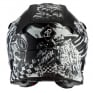 ONeal 5 Series Rider Black White Grey Motocross Helmet