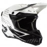 ONeal 5 Series Trace Black White Grey Motocross Helmet