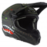 ONeal 5 Series Warhawk Black Green Motocross Helmet