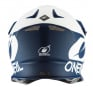 ONeal 8 Series 2T Blue White Motocross Helmet