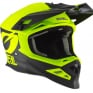 ONeal 8 Series 2T Neon Yellow Motocross Helmet