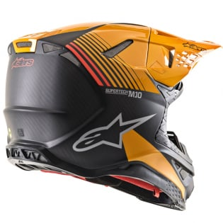 Alpinestars Supertech SM10 Dyno Black Orange Helmet Image 4