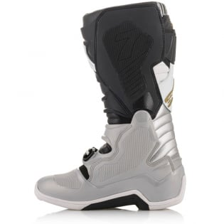 Alpinestars Tech 7 Black Silver White Gold Boots Image 3
