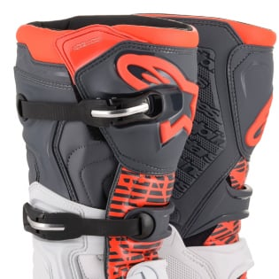 Alpinestars Tech 5 White Grey Fluo Red Boots Image 2