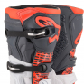 Alpinestars Tech 5 White Grey Fluo Red Boots