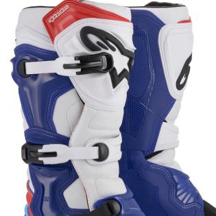 Alpinestars Tech 3 Blue White Red Boots Image 2