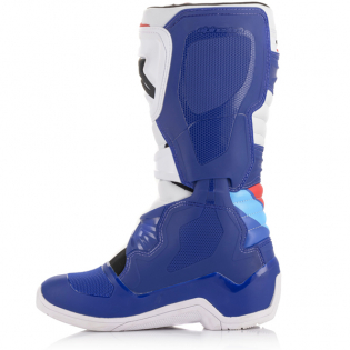 Alpinestars Tech 3 Blue White Red Boots Image 3