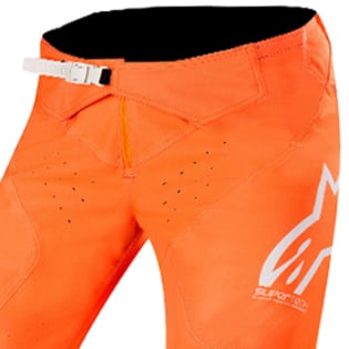 Alpinestars SuperTech Orange Fluo White Blue Pants Image 2