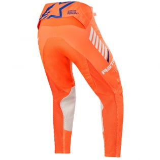 Alpinestars SuperTech Orange Fluo White Blue Pants Image 3