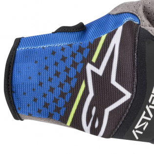 Alpinestars Techstar Dark Blue Black Gloves Image 2