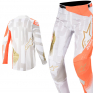 Alpinestars Techstar Factory Metal Wht Orange Gold Jersey