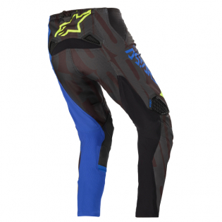 Alpinestars Techstar Factory Black Blue Yellow Fluo Pants Image 4