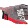 Alpinestars Radar Bright Red Black Gloves