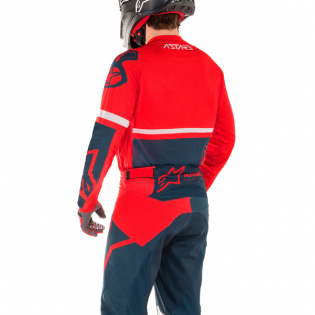 Alpinestars Racer Tech Compass Red Navy Pants Image 3