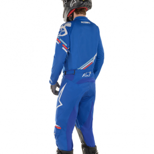 Alpinestars Racer Braap Blue White Pants Image 3
