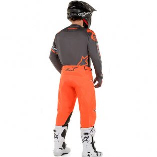 Alpinestars Racer Braap Grey Orange Fluo Jersey Image 3