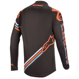 Alpinestars Racer Braap Grey Orange Fluo Jersey Image 4