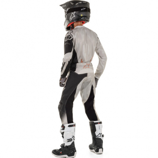 Alpinestars Kids Racer Factory Grey Black Rust Kit Combo Image 3