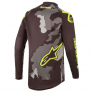 Alpinestars Kids Racer Tactical Black Grey Yellow Jersey