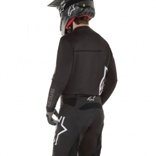 Alpinestars Kids Racer Graphite Black Grey Jersey Image 3