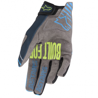 Alpinestars Kids Radar Navy Aqua Gloves Image 3