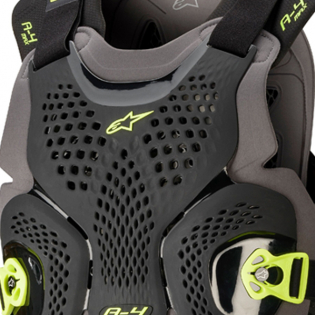 Alpinestars A4 Max Black Anthracite Chest Protector Image 2