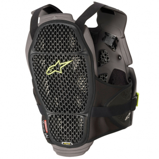 Alpinestars A4 Max Black Anthracite Chest Protector Image 3