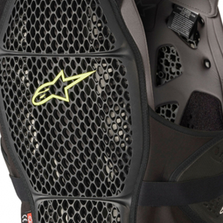 Alpinestars A4 Max Black Anthracite Chest Protector Image 4