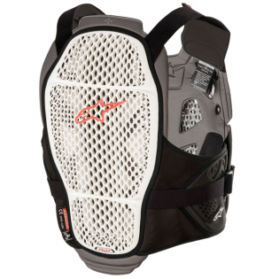 Alpinestars A4 Max White Anthracite Red Chest Protector Image 3